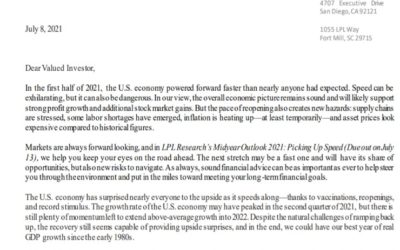 Client Letter   Midyear Outlook 2021 Picking Up Speed   July 8, 2021